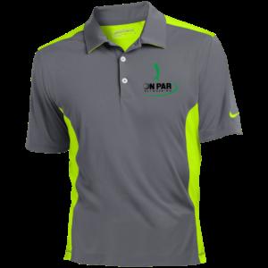 Nike Golf Dri-Fit Colorblock Mesh Polo